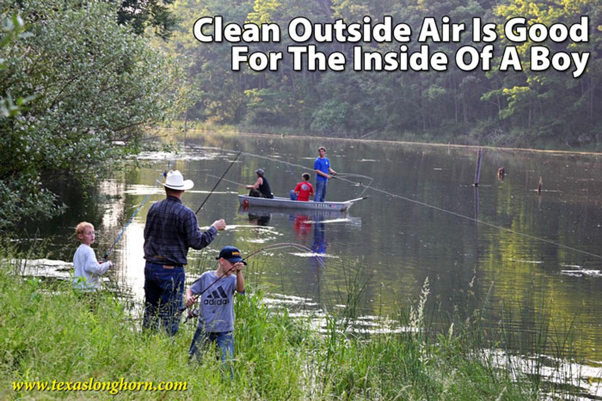 clean outside air