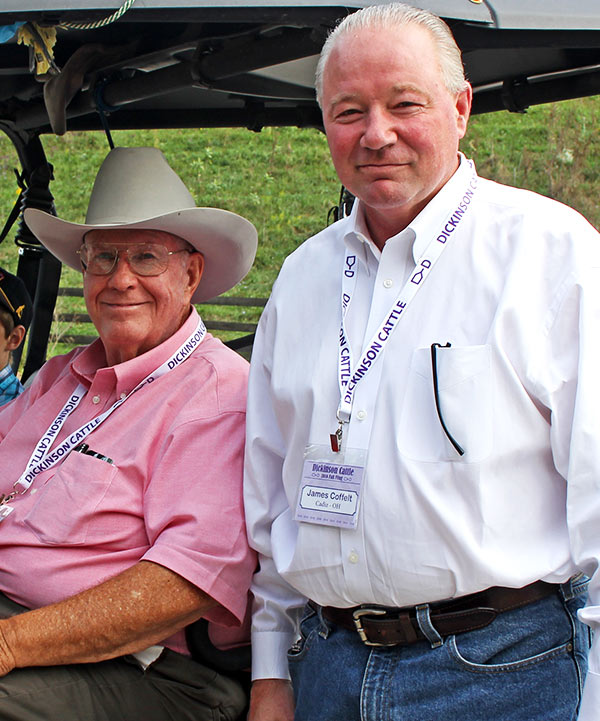 Darol Dickinson spoke on diversified production against all government odds, and James Coffelt spoke on total business opportunities in developing wealth with cattle and land.