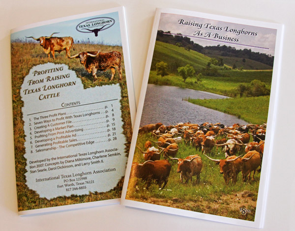 PROFITING FROM RAISING TEXAS LONGHORN CATTLE - RAISING TEXAS LONGHORNS AS A BUSINESS