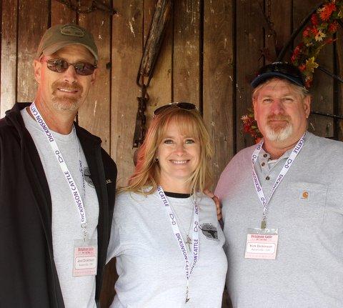 Ranch owners Joel, Dela, and Kirk