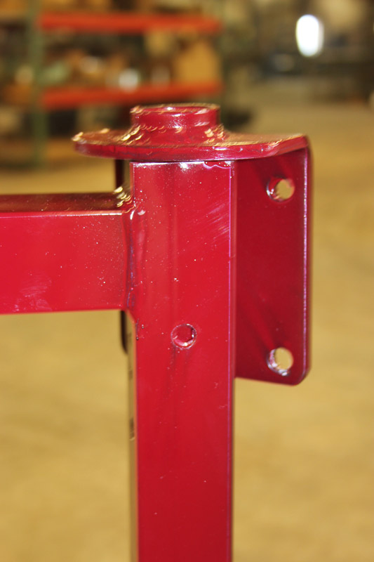 Attachable Horn Safe Hinges.